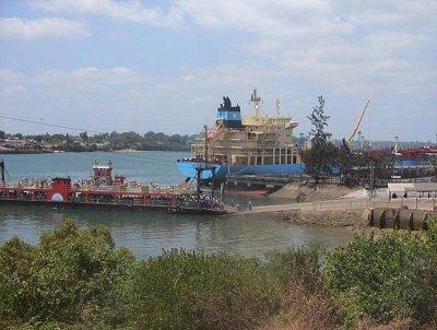 Část přístavu