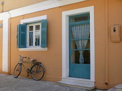 Lefkada - hl- město_3 - Romantická zákoutí kam se podíváš.