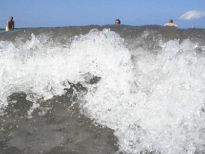 Moře na ostrově