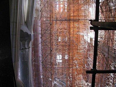 chrám SAGRADA FAMILIA uvnitř - stále se staví (nahrál: Adam Svoboda)