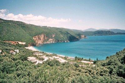 Parga - Pláž Lichnos. (nahrál: Libor)