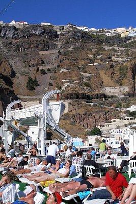 Plavba z Kréty na Thiru (Santorini) (nahrál: Libor)