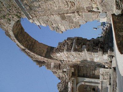 Side - antická městská brána (nahrál: Martina Benedová)