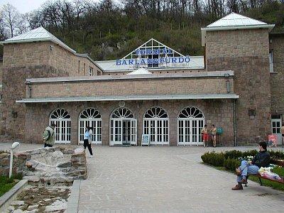 Miskolc-Tapolca - Vchod do termálních lázní (nahrál: Slávek)