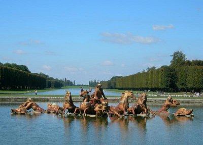 fontána ve Versailles (nahrál: Ještěrka)