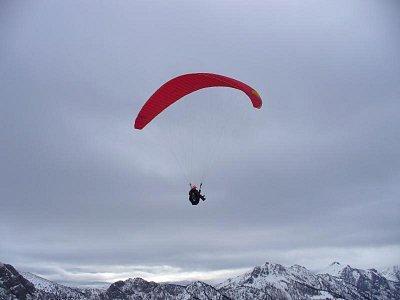 paragliding z alpských vrcholků (nahrál: admin)