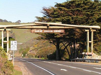 Brána do Great Ocean Road (nahrál: admin)