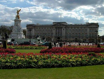 Pohled na Buckinghamský palác (nahrál: admin)