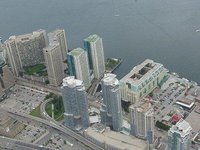 Pohled ze CN Tower (nahrál: admin)