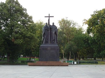 patrně Cyril a Metoděj - nedaleko od Rudého náměstí (nahrál: Kamil Hainc)