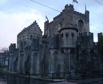 Belgie Gent - nádherné město