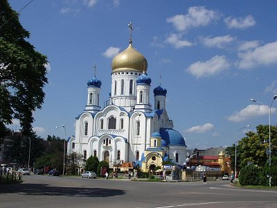 nový pravoslavný chrám (nahrál: Kamil Hainc)