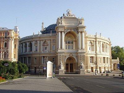 divadlo opery a baletu (nahrál: Kamil Hainc)