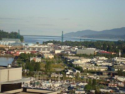 VANCOUVER - GATE LIONS BRIDGE (nahrál: Jirka Pel)