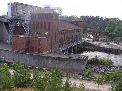 Vattefall - vodní elektrárna  (nahrál: josef Vágner)