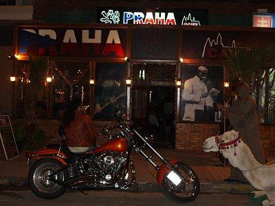 Praha cafe - Praha v noci (nahrál: BaR)
