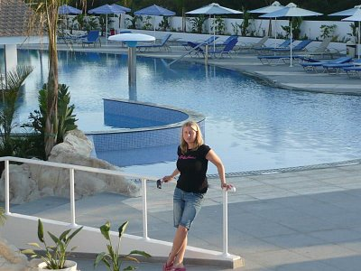 bazen hotelu CHristofinia (nahrál: alena)