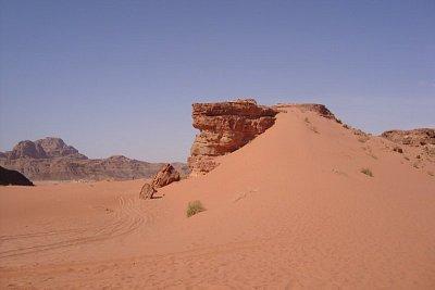 Krajina v poušti Wádí Rum (nahrál: Trochy)