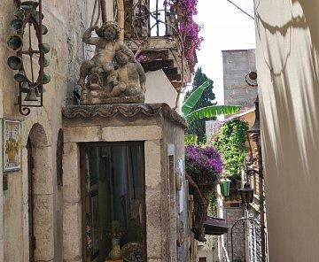 Sicilie 2012 - sicilské balkony