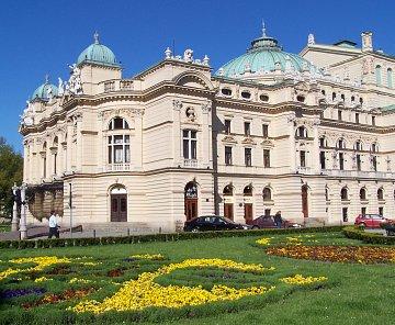 Krakov - historické centrum Polska