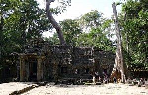 Siem Reap - Chrám Angkor Prohm