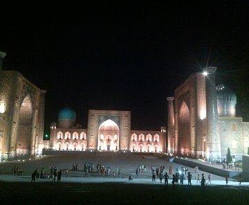 Samarkand - nádherné mesto