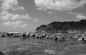 Ischia black/white